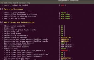 Lynis ile Linux güvenliğini artırmak