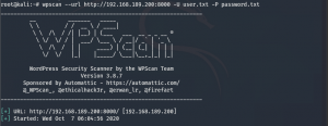 WpScan ile WordPress Tarama