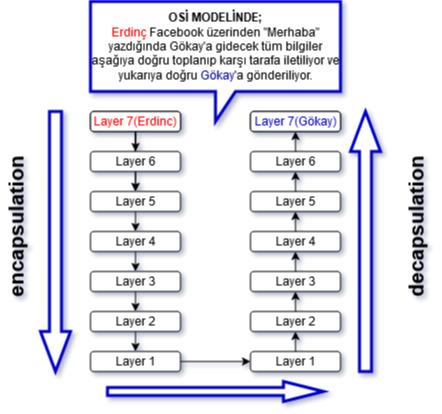 OSI Çalışma Modeli