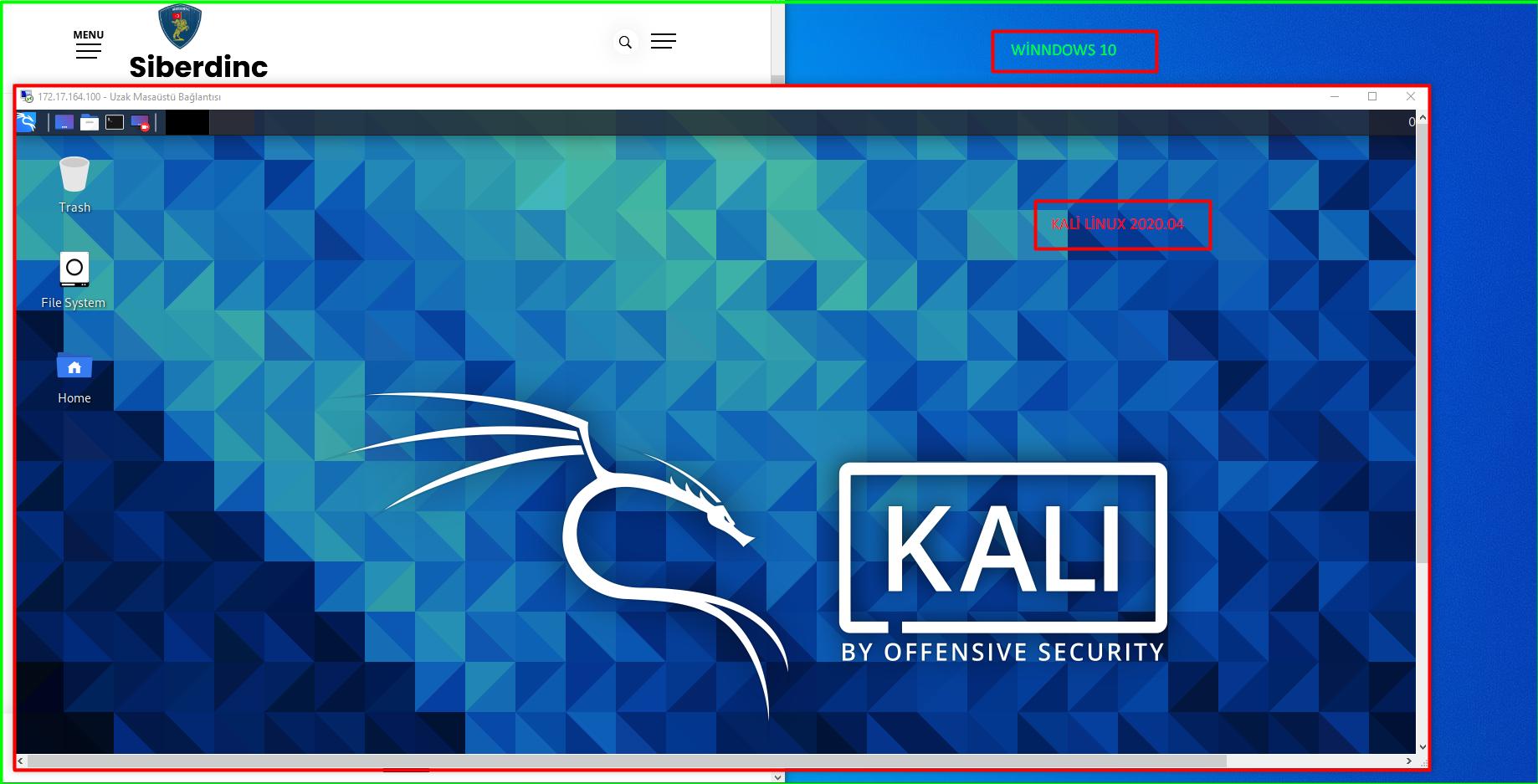 Windows Üzerinde WSL 2 ile Kali Linux Kurulumu
