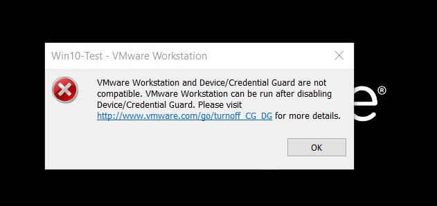 """VMware Workstation and Device/Credential Guard are not compatible"" Hatası Çözümü"
